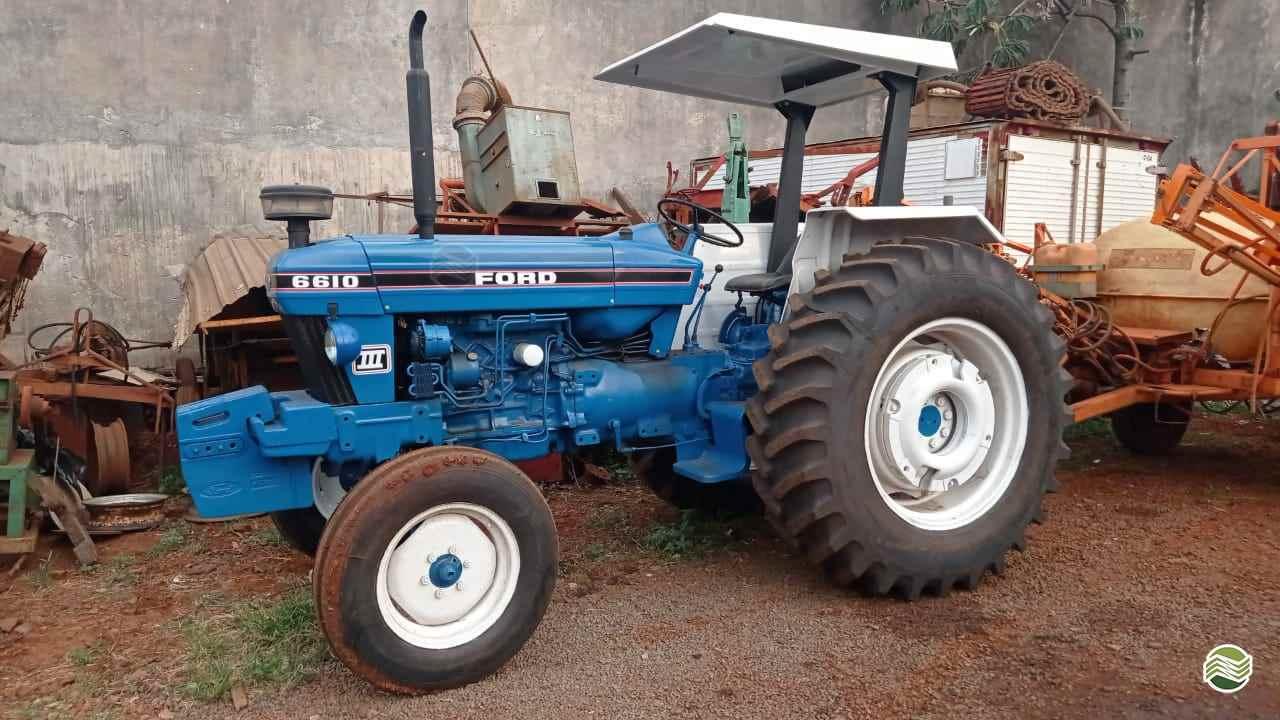 TRATOR FORD FORD 6610 Tração 4x2 Agromaq Tratores e Máquinas Agrícolas LONDRINA PARANÁ PR