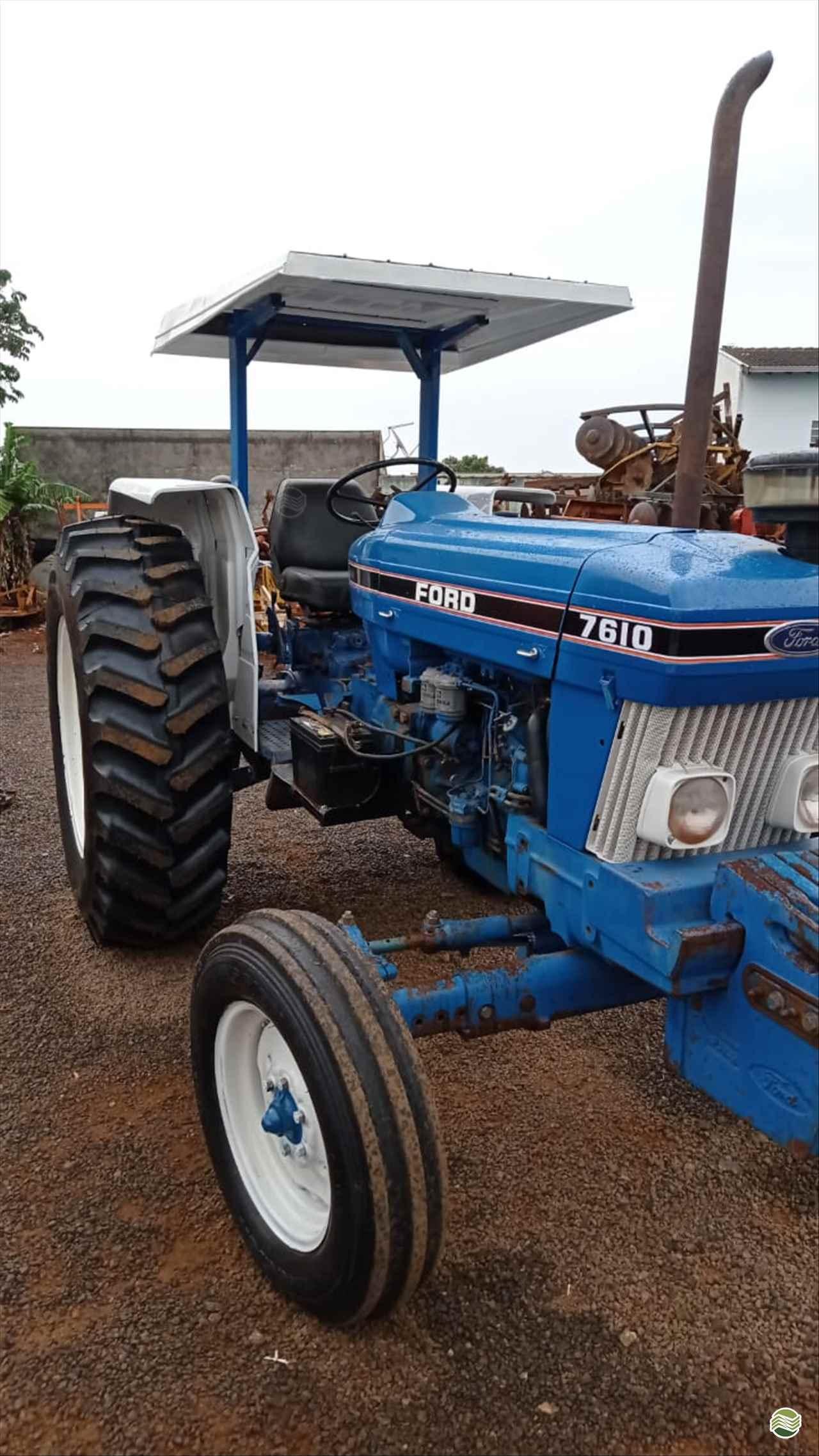 TRATOR FORD FORD 7610 Tração 4x2 Agromaq Tratores e Máquinas Agrícolas LONDRINA PARANÁ PR