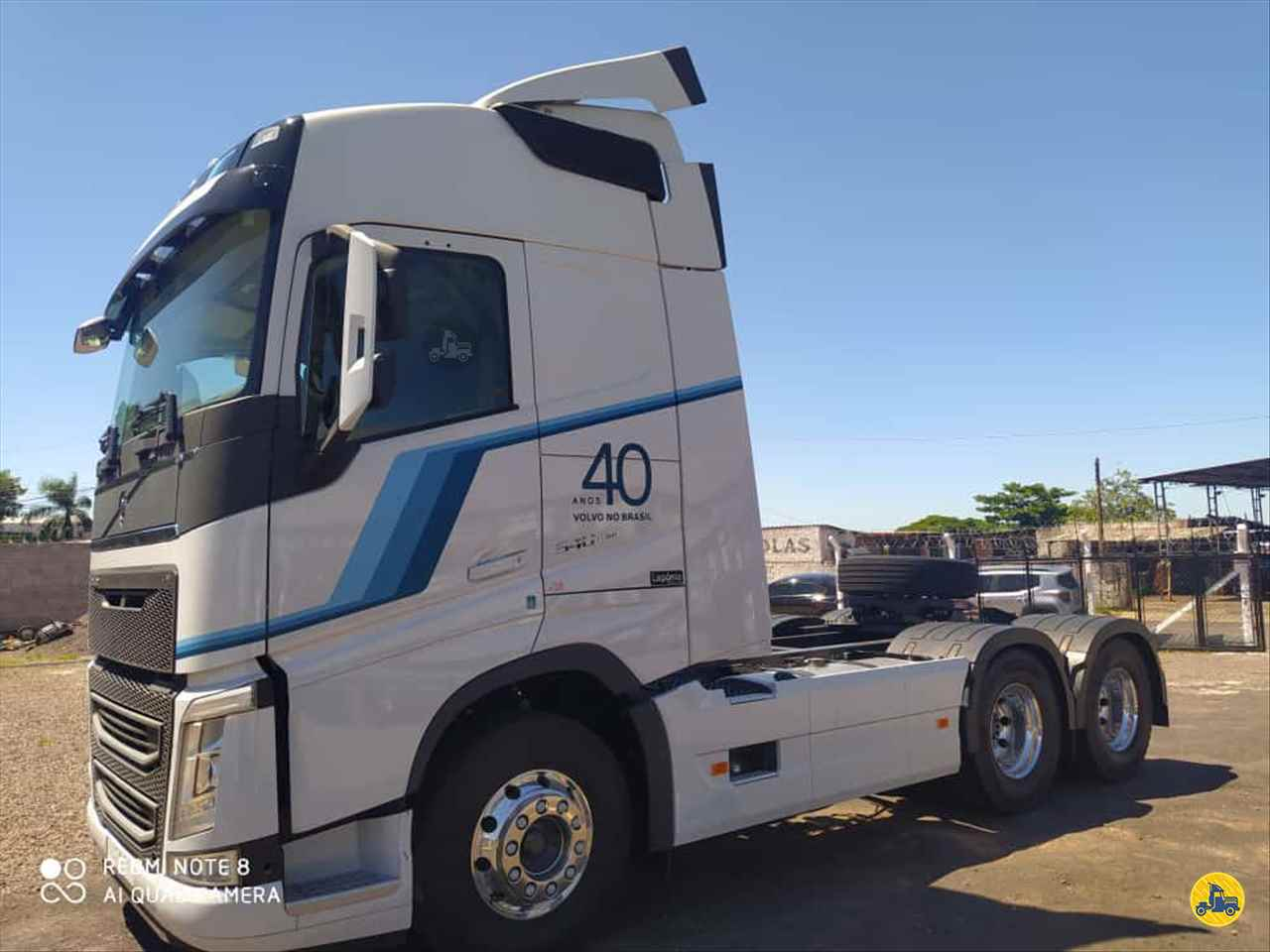 CAMINHAO VOLVO VOLVO FH 540 Cavalo Mecânico Traçado 6x4 Ebenezer Caminhões e Carretas CAPAO BONITO SÃO PAULO SP