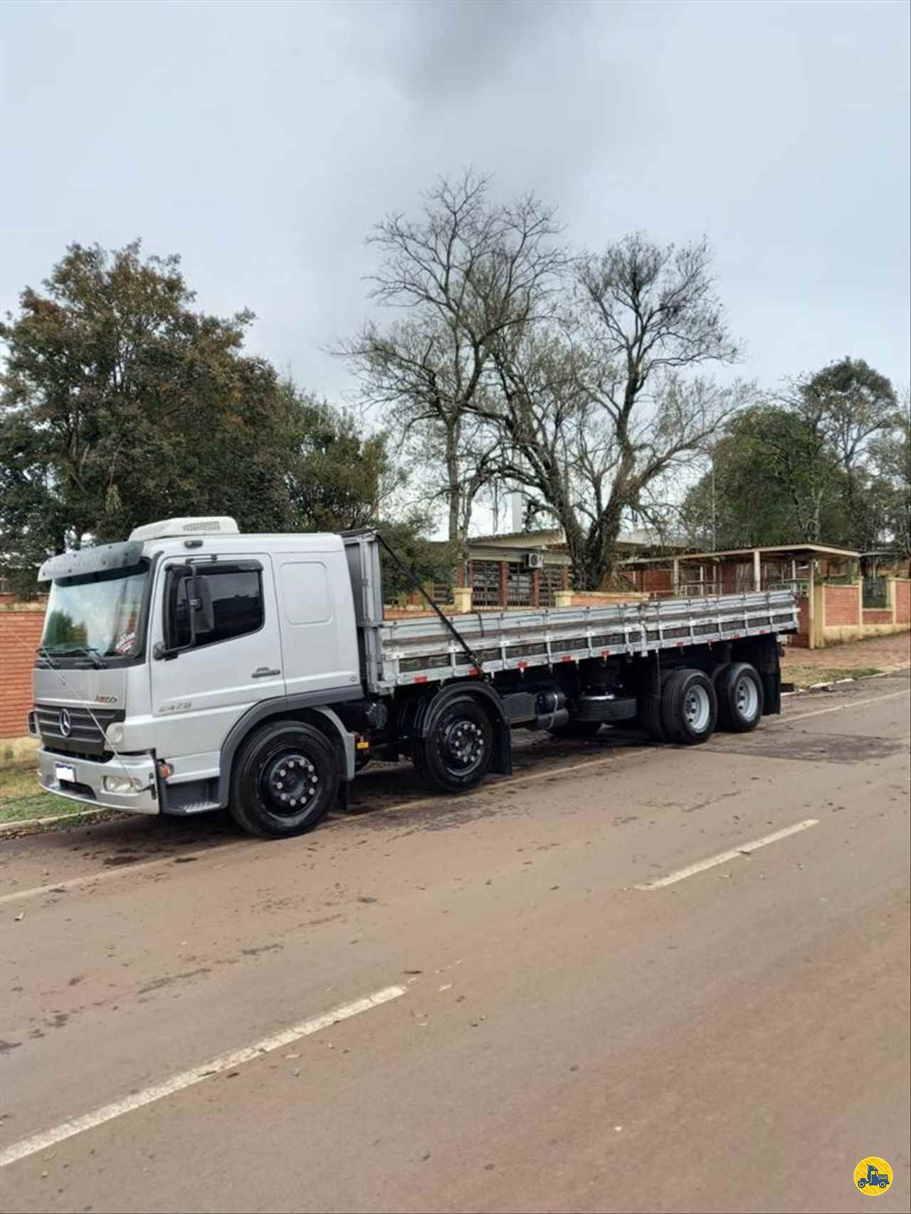 CAMINHAO MERCEDES-BENZ MB 2428 Carga Seca BiTruck 8x2 Ebenezer Caminhões e Carretas CAPAO BONITO SÃO PAULO SP