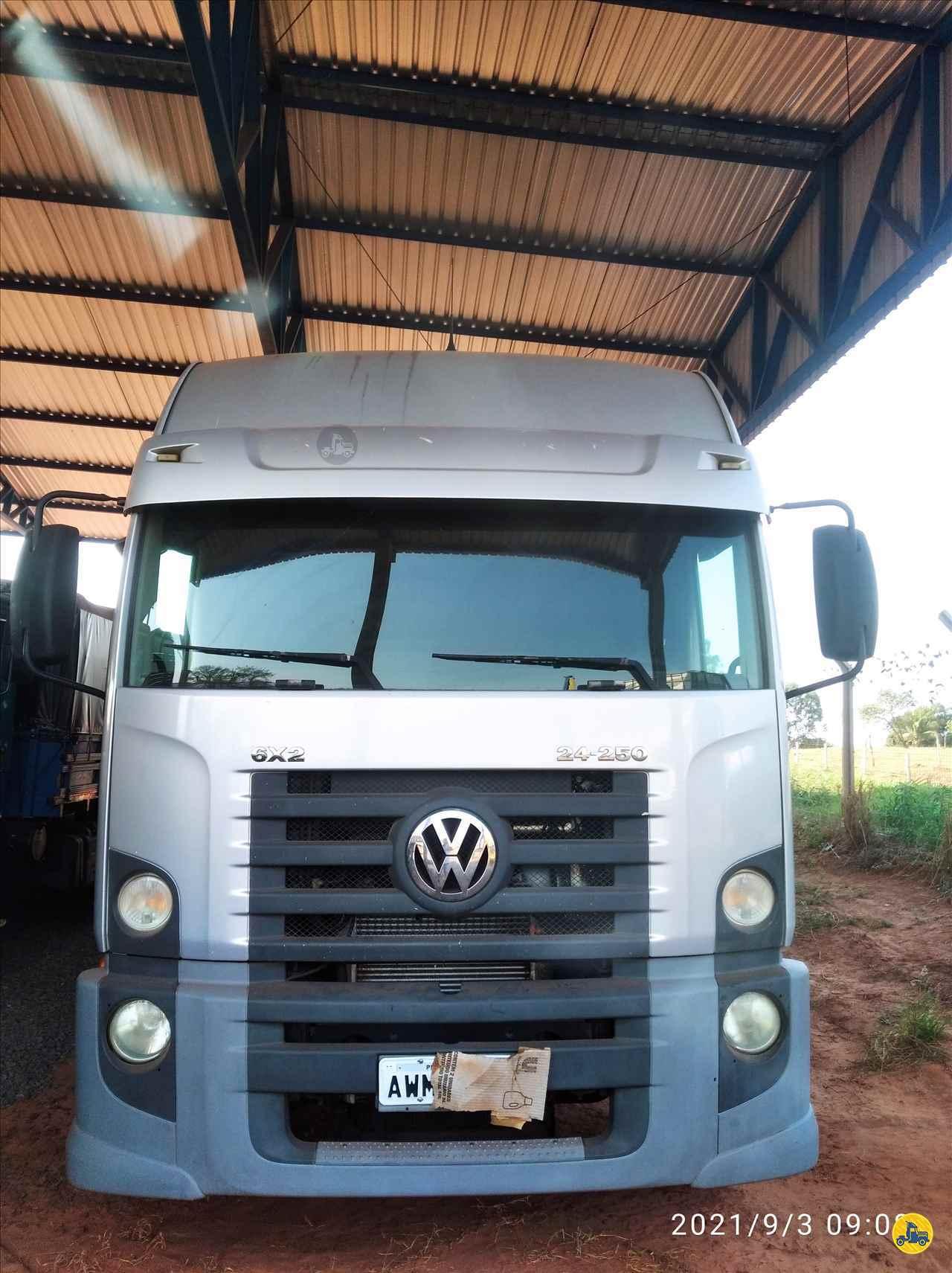 CAMINHAO VOLKSWAGEN VW 24250 Baú Furgão Truck 6x2 TVF Caminhões IPORA PARANÁ PR