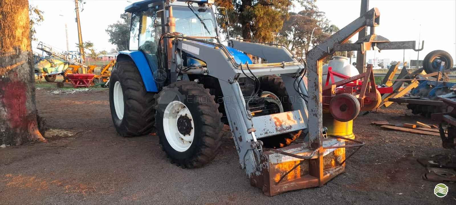 TRATOR NEW HOLLAND NEW TS 6020 Tração 4x4 Engmáquinas Agrícolas CASCAVEL PARANÁ PR