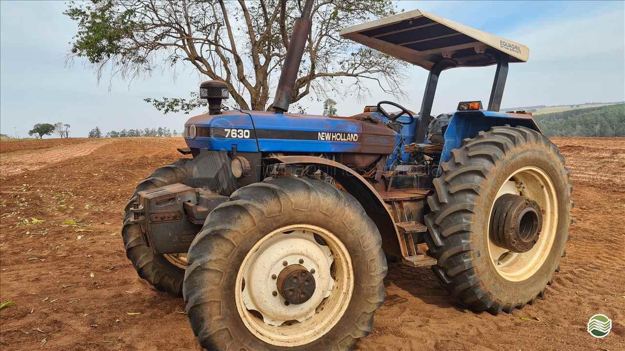 TRATOR NEW HOLLAND NEW 7630 Tração 4x4 Engmáquinas Agrícolas CASCAVEL PARANÁ PR