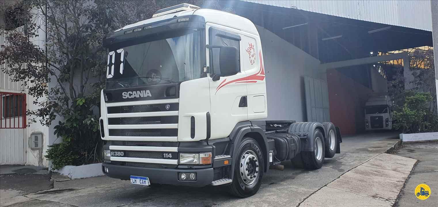 CAMINHAO SCANIA SCANIA 114 380 Cavalo Mecânico Truck 6x2 LM Caminhões SAO PAULO SÃO PAULO SP