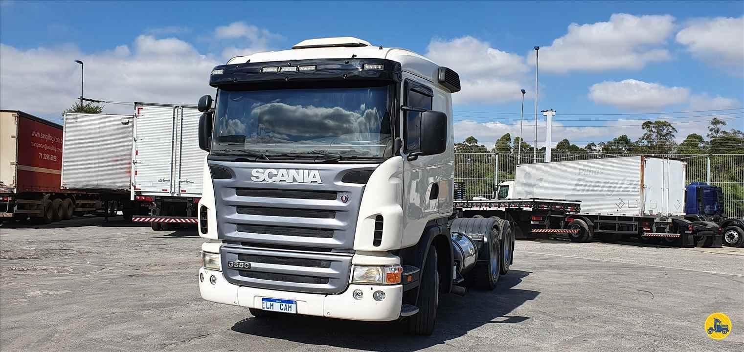 CAMINHAO SCANIA SCANIA 380 Cavalo Mecânico Truck 6x2 LM Caminhões SAO PAULO SÃO PAULO SP