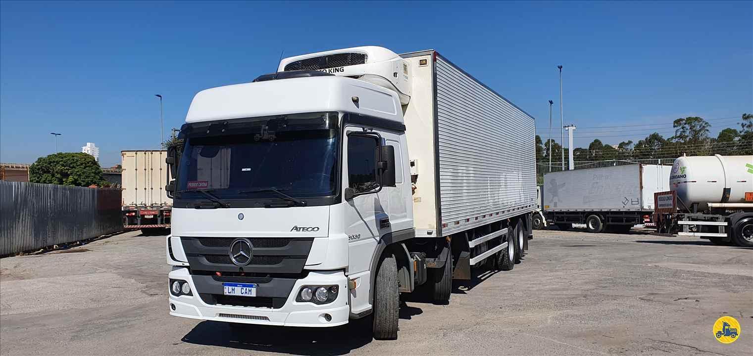 CAMINHAO MERCEDES-BENZ MB 3030 Baú Frigorífico BiTruck 8x2 LM Caminhões SAO PAULO SÃO PAULO SP
