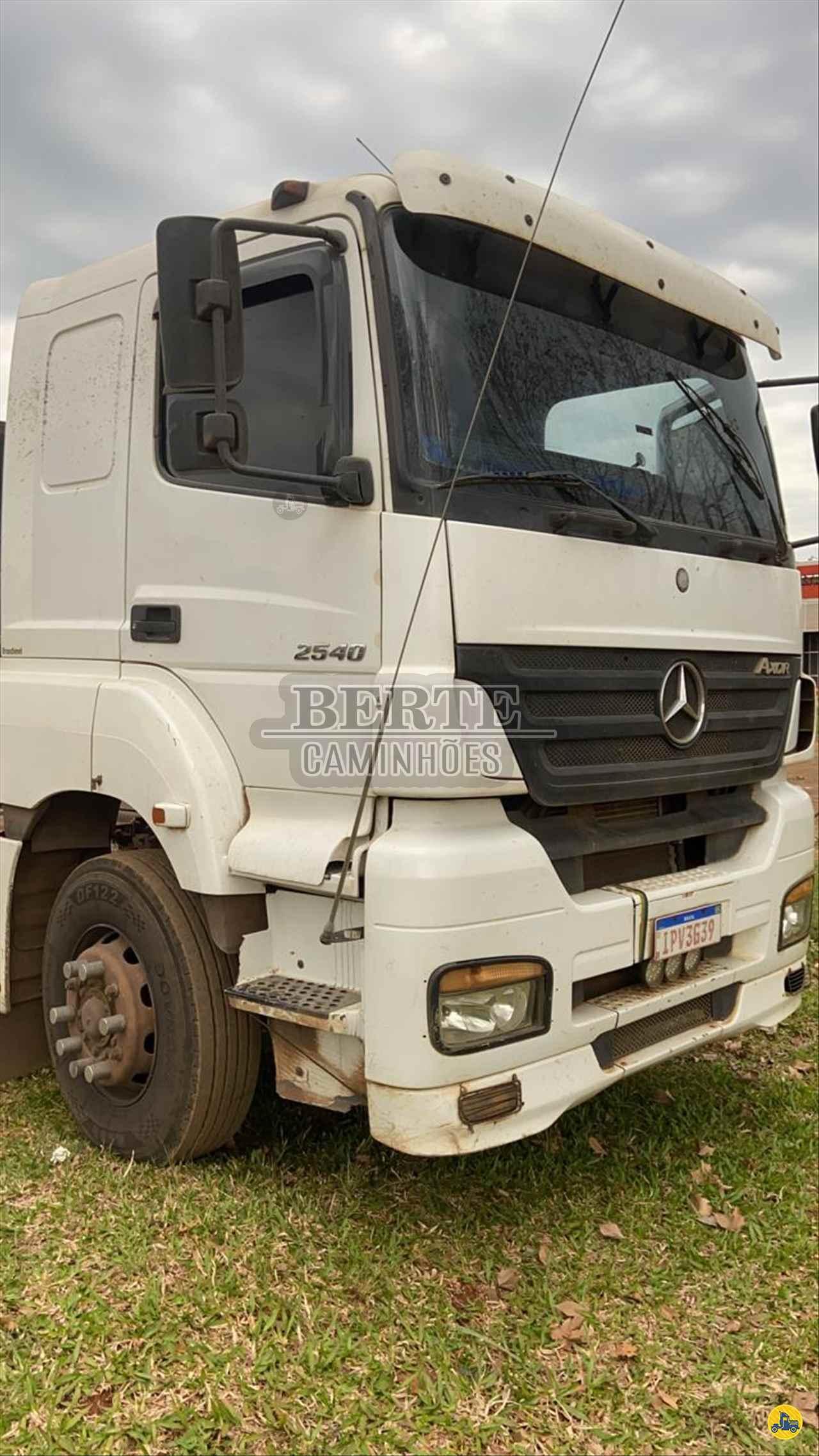 CAMINHAO MERCEDES-BENZ MB 2540 Cavalo Mecânico Truck 6x2 Berte Caminhões SANTA ROSA RIO GRANDE DO SUL RS
