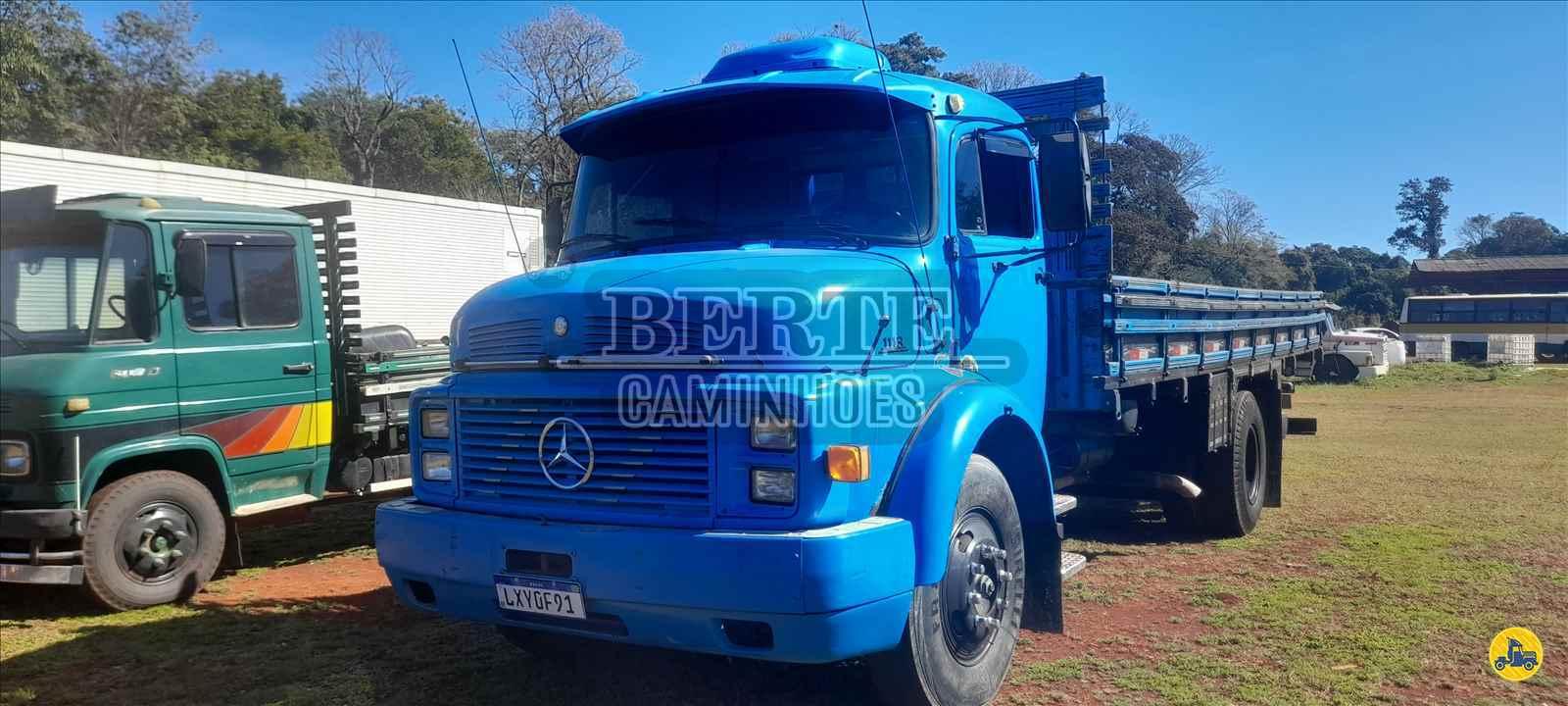 CAMINHAO MERCEDES-BENZ MB 1113 Carga Seca Toco 4x2 Berte Caminhões SANTA ROSA RIO GRANDE DO SUL RS
