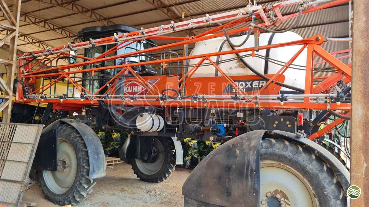 PULVERIZADOR KUHN BOXER 2000 M Tração 4x2 Fazenda Guapo Agropecuária COMODORO MATO GROSSO MT