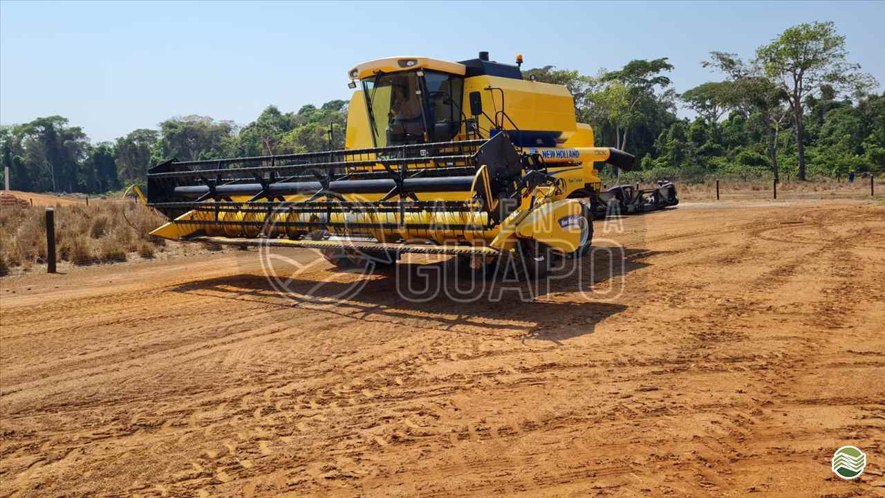 COLHEITADEIRA NEW HOLLAND TC 5090 Fazenda Guapo Agropecuária COMODORO MATO GROSSO MT