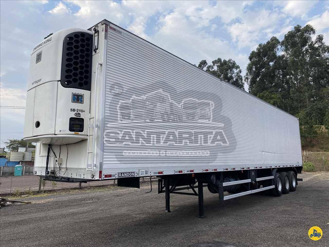 CARRETA SEMI-REBOQUE FRIGORIFICO Santa Rita Caminhões ESTRELA RIO GRANDE DO SUL RS