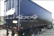 SEMI-REBOQUE BAU SIDER  2007/2007 4X4 Caminhões e Carretas