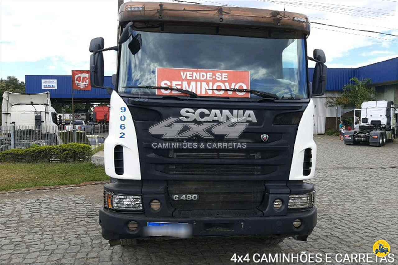 SCANIA SCANIA 480 523000km 2013/2013 4X4 Caminhões e Carretas