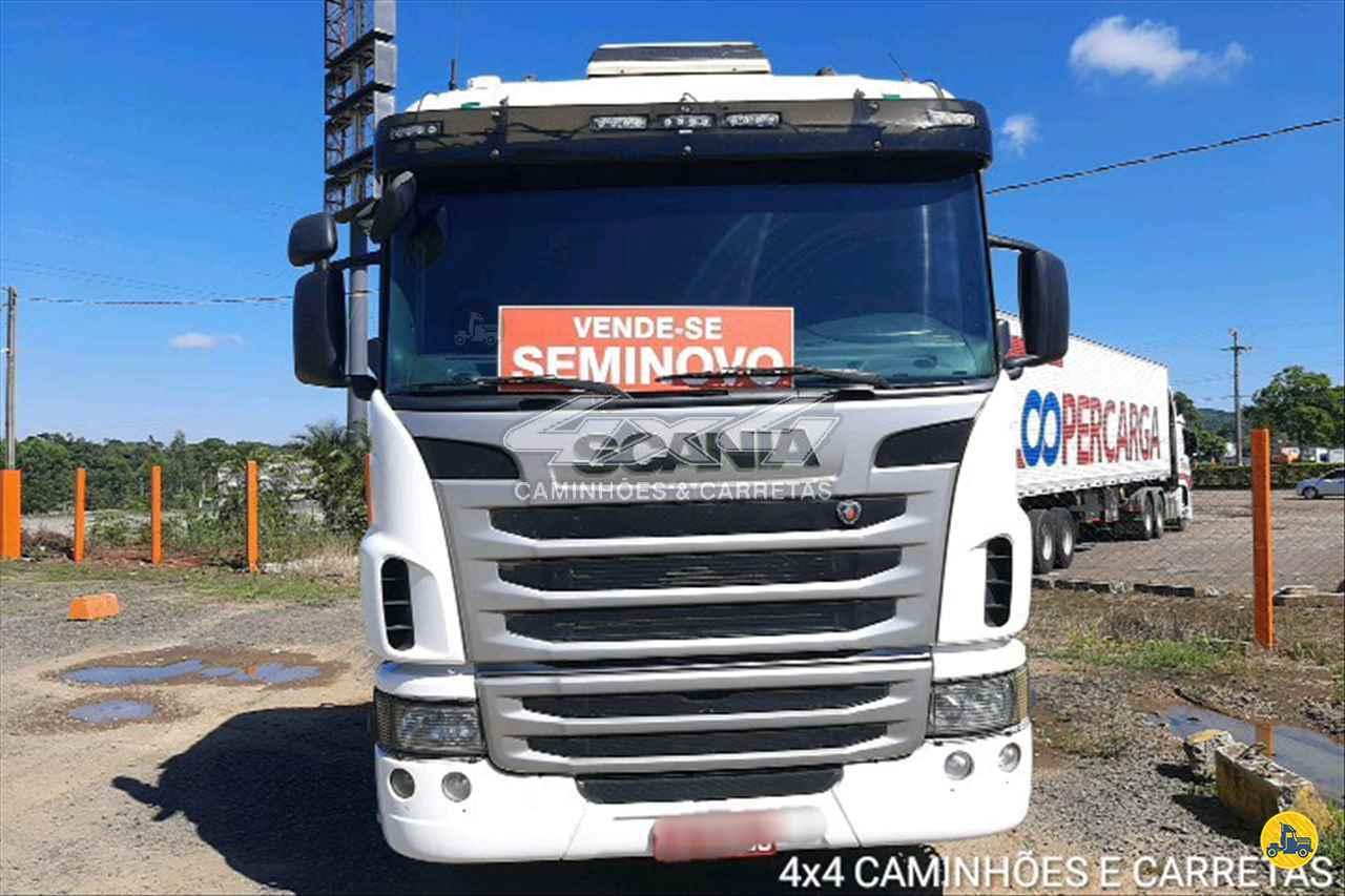 SCANIA SCANIA 440 1028000km 2013/2013 4X4 Caminhões e Carretas
