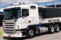 SCANIA SCANIA 420 140000km 2009/2009 4X4 Caminhões e Carretas