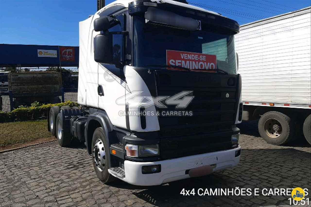 CAMINHAO SCANIA SCANIA 124 360 Cavalo Mecânico Truck 6x2 4X4 Caminhões e Carretas CONCORDIA SANTA CATARINA SC