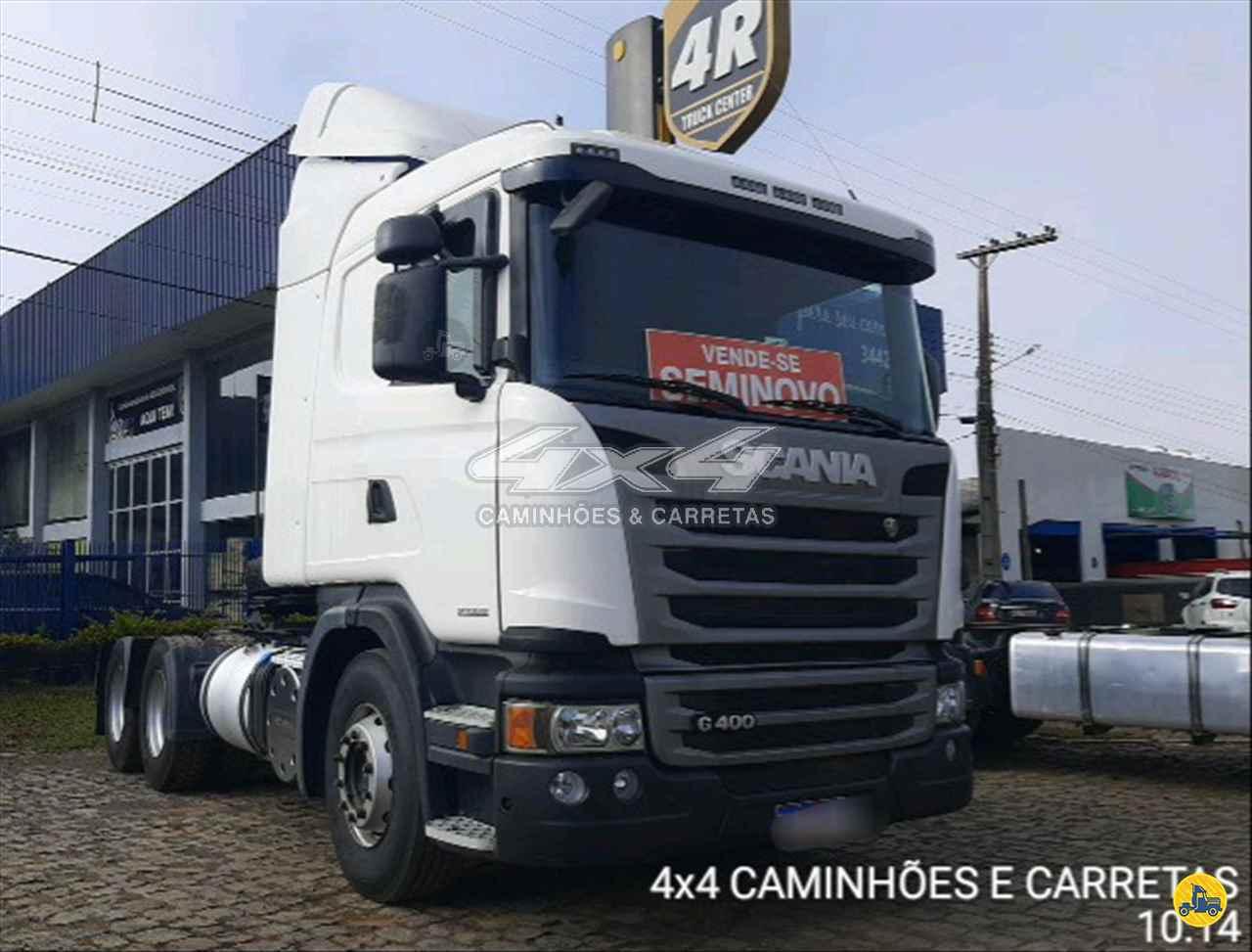 CAMINHAO SCANIA SCANIA 400 Cavalo Mecânico Truck 6x2 4X4 Caminhões e Carretas CONCORDIA SANTA CATARINA SC