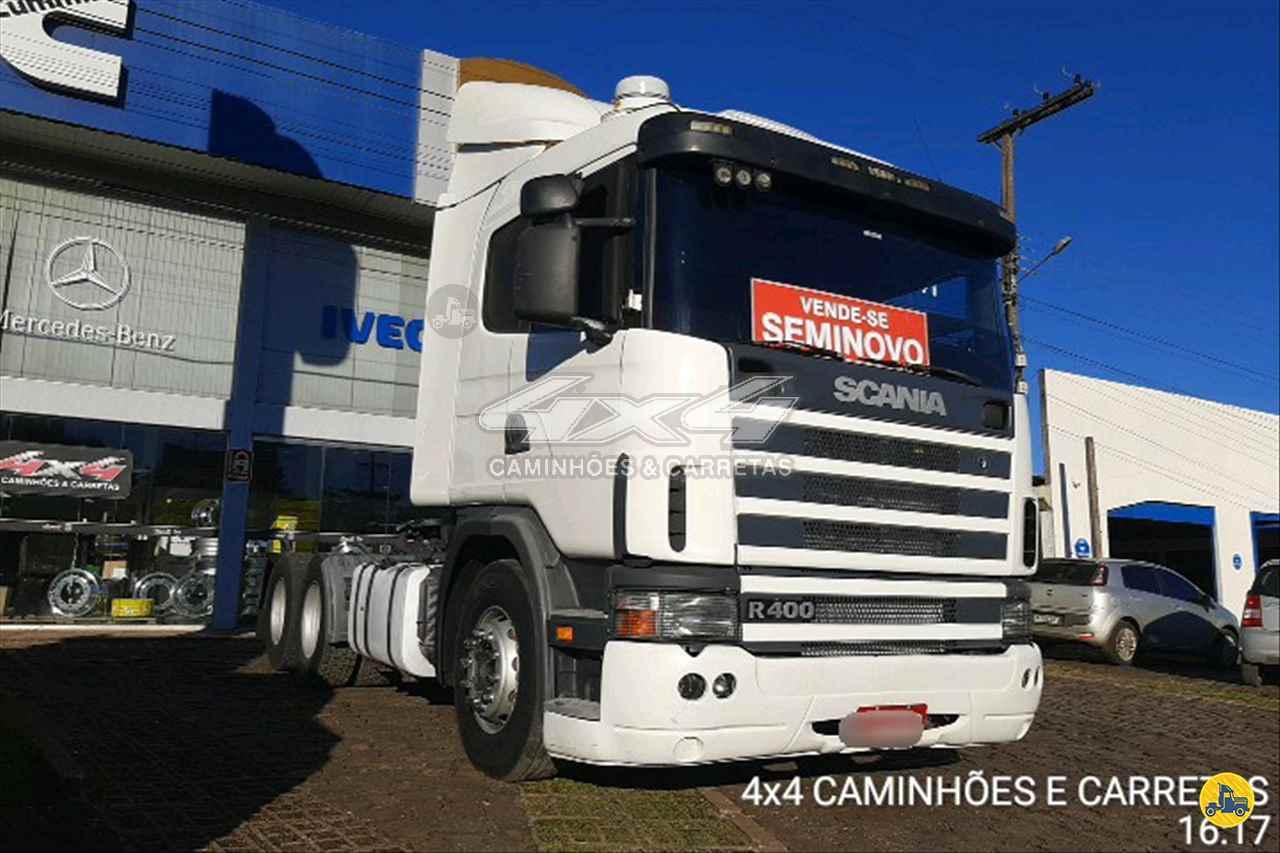CAMINHAO SCANIA SCANIA 124 400 Cavalo Mecânico Truck 6x2 4X4 Caminhões e Carretas CONCORDIA SANTA CATARINA SC