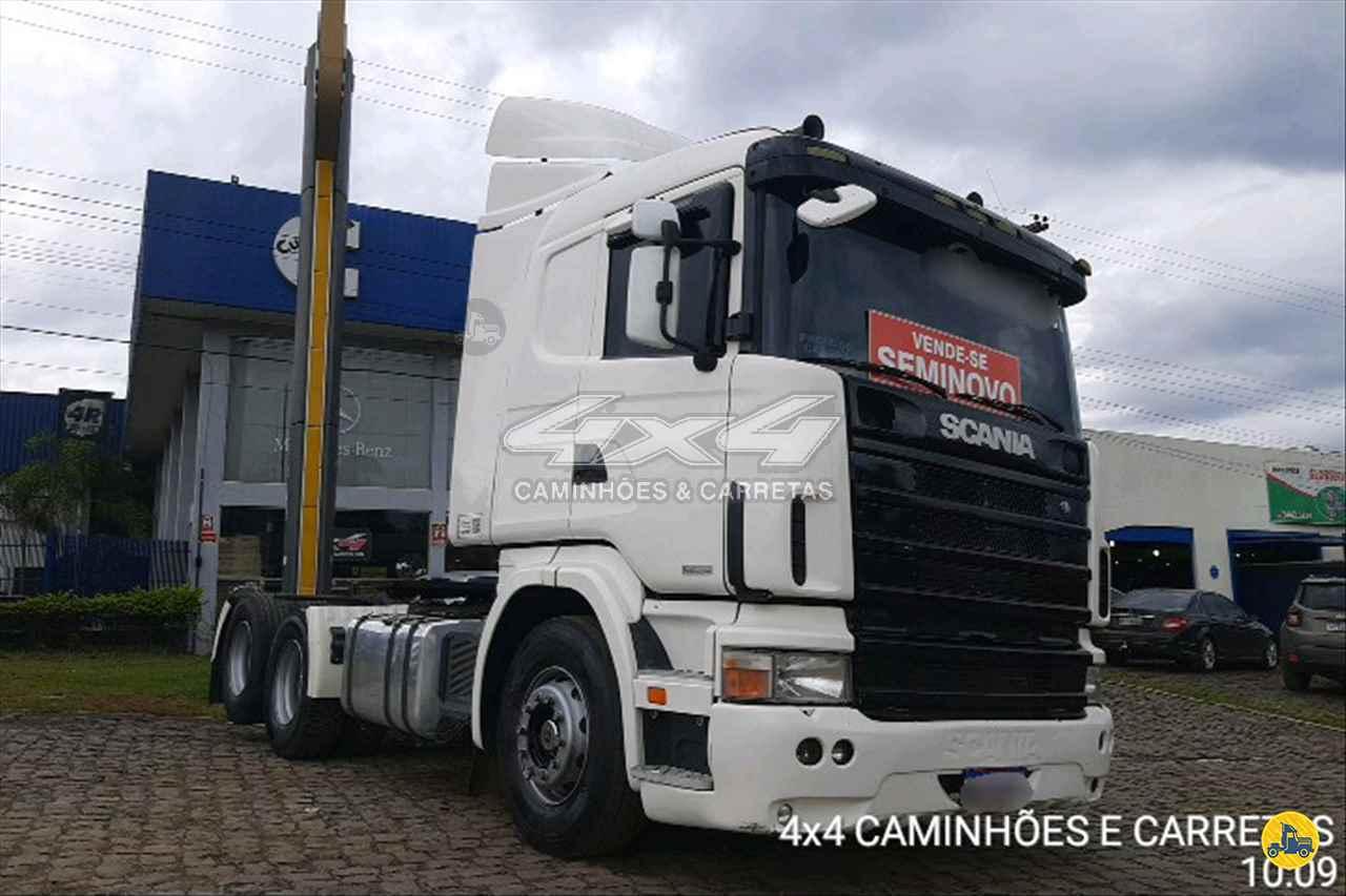 CAMINHAO SCANIA SCANIA 114 380 Cavalo Mecânico Truck 6x2 4X4 Caminhões e Carretas CONCORDIA SANTA CATARINA SC