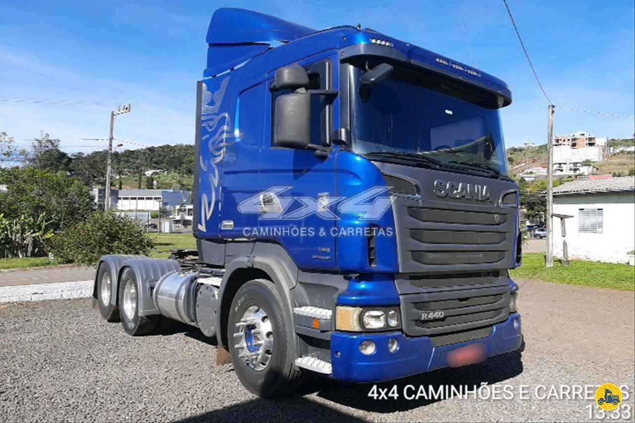 CAMINHAO SCANIA SCANIA 440 Cavalo Mecânico Truck 6x2 4X4 Caminhões e Carretas CONCORDIA SANTA CATARINA SC