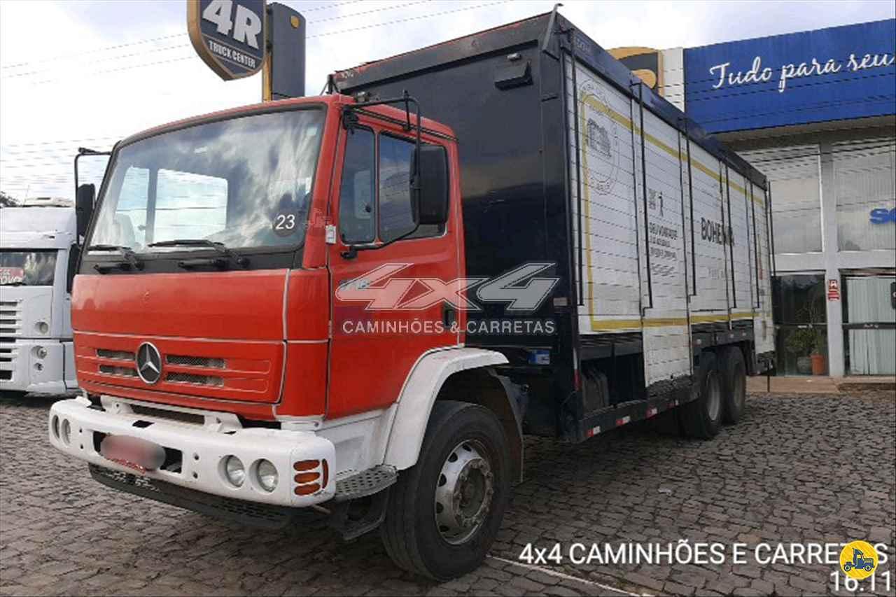 CAMINHAO MERCEDES-BENZ MB 1718 Baú Bebidas Truck 6x2 4X4 Caminhões e Carretas CONCORDIA SANTA CATARINA SC