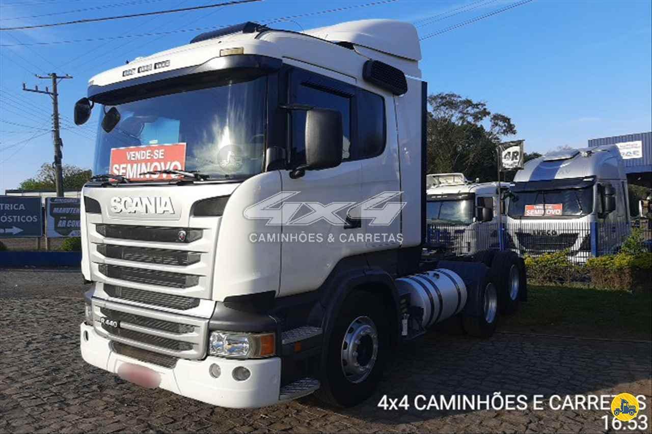 SCANIA 440 de 4X4 Caminhões e Carretas - CONCORDIA/SC