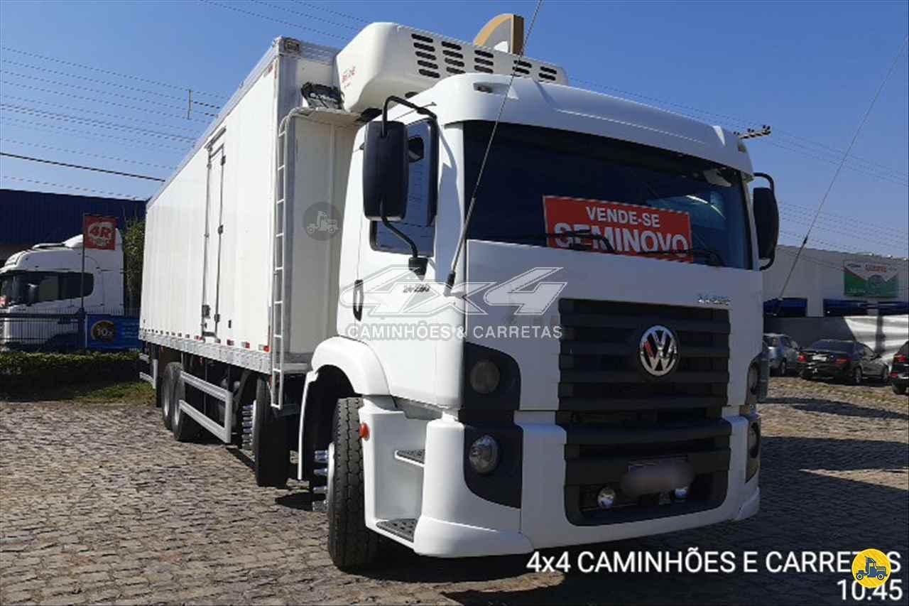CAMINHAO VOLKSWAGEN VW 24250 Baú Frigorífico BiTruck 8x2 4X4 Caminhões e Carretas CONCORDIA SANTA CATARINA SC