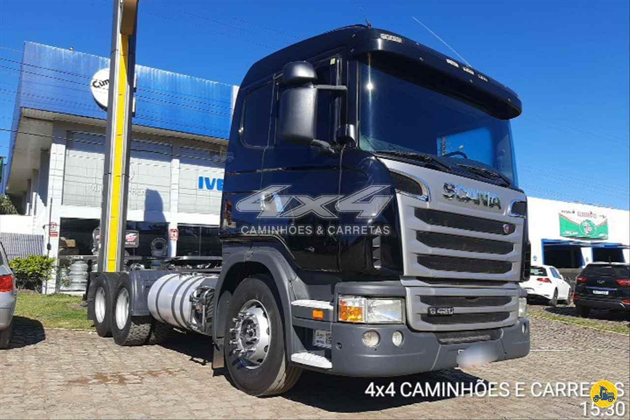 SCANIA 420 de 4X4 Caminhões e Carretas - CONCORDIA/SC