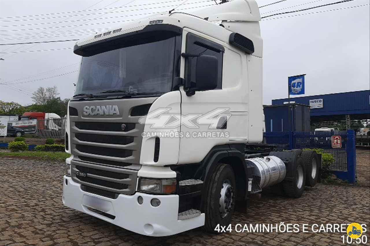 SCANIA 380 de 4X4 Caminhões e Carretas - CONCORDIA/SC