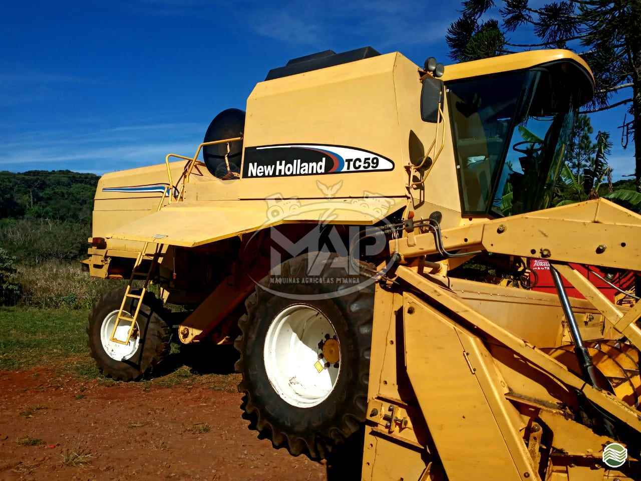 NEW HOLLAND TC 59  2004/2004 Máquinas Agrícolas Pitanga