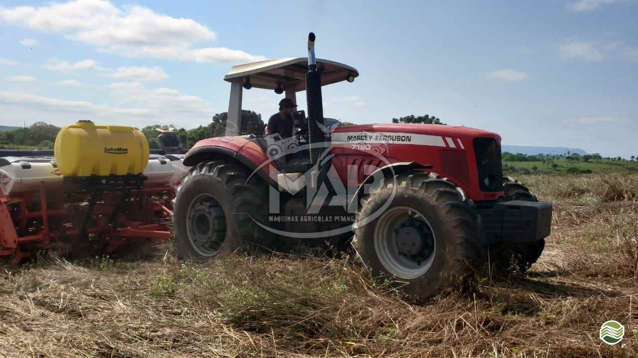 TRATOR MASSEY FERGUSON MF 7180 Tração 4x4 Máquinas Agrícolas Pitanga PITANGA PARANÁ PR
