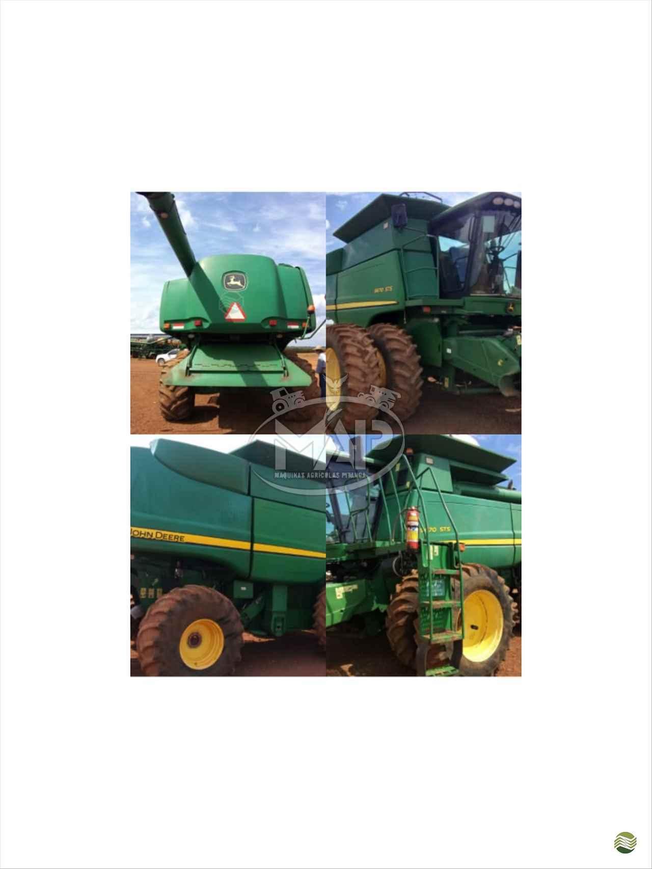COLHEITADEIRA JOHN DEERE JOHN DEERE 9670 STS Máquinas Agrícolas Pitanga PITANGA PARANÁ PR