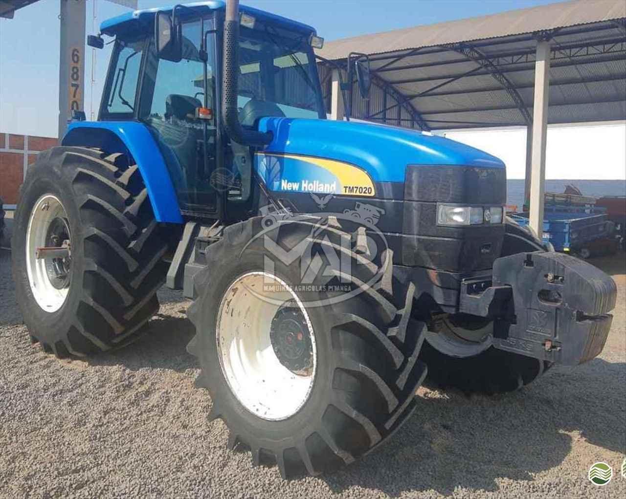 TRATOR NEW HOLLAND NEW TM 7020 Tração 4x4 Máquinas Agrícolas Pitanga PITANGA PARANÁ PR