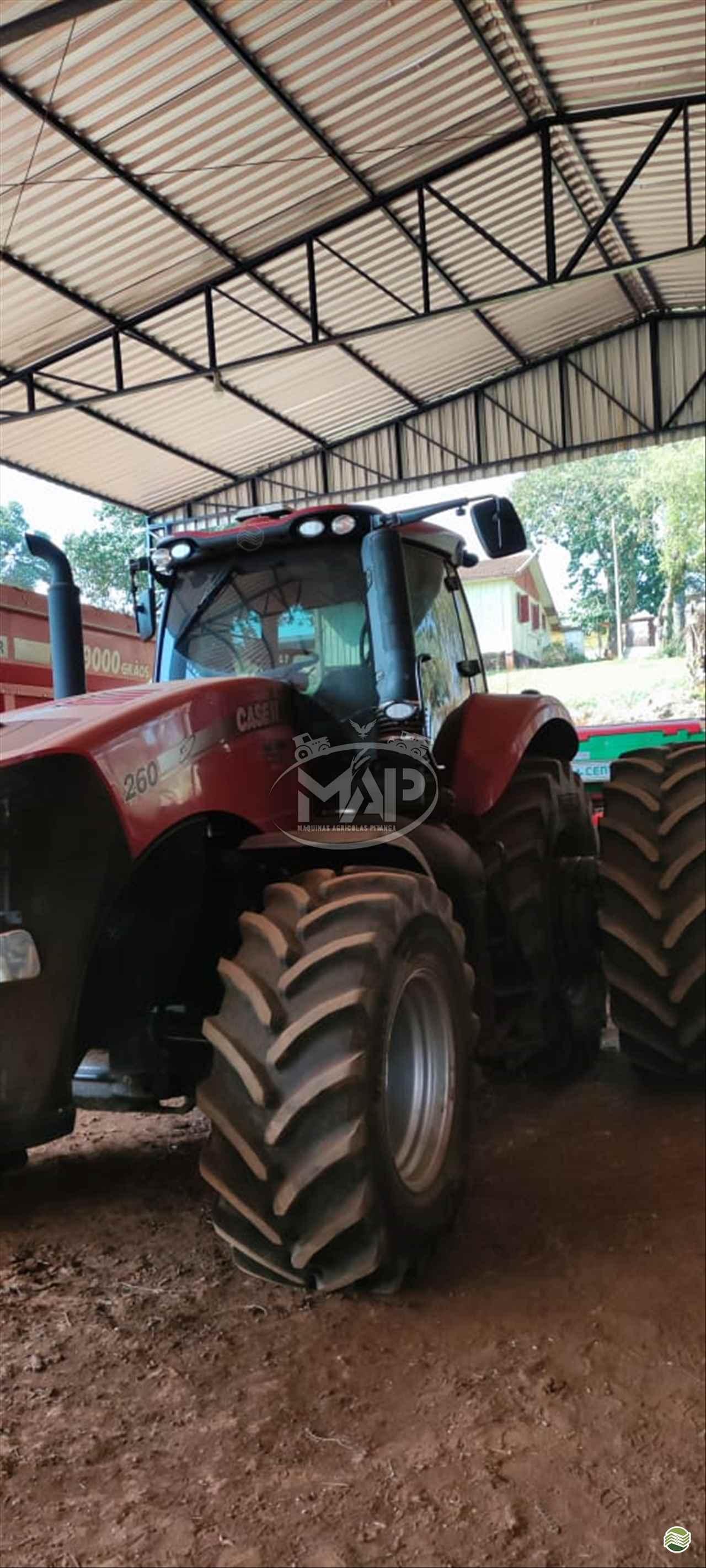TRATOR CASE MAGNUM 260 Tração 4x4 Máquinas Agrícolas Pitanga PITANGA PARANÁ PR
