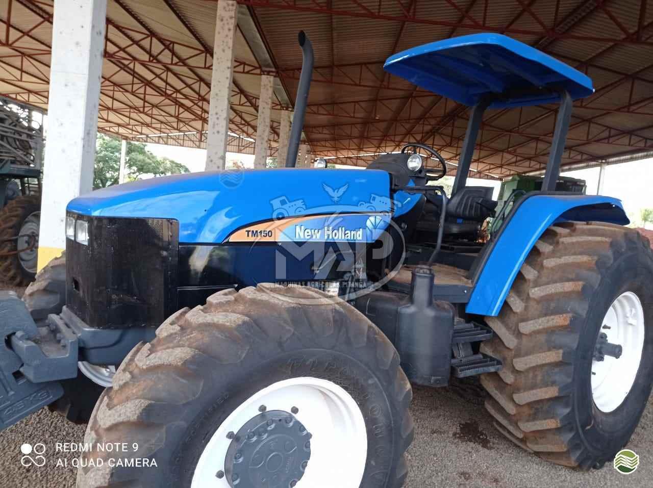 TRATOR NEW HOLLAND NEW TM 150 Tração 4x4 Máquinas Agrícolas Pitanga PITANGA PARANÁ PR