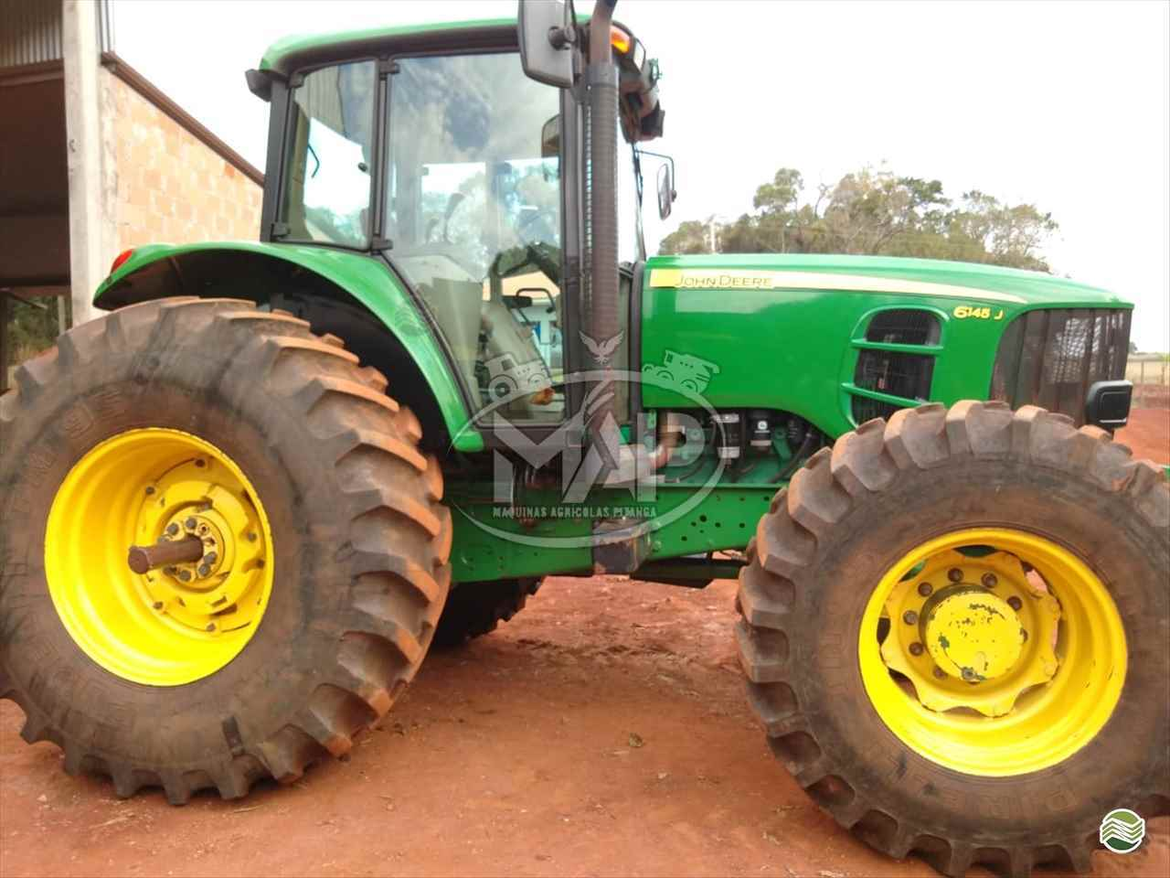 TRATOR JOHN DEERE JOHN DEERE 6145 Tração 4x4 Máquinas Agrícolas Pitanga PITANGA PARANÁ PR