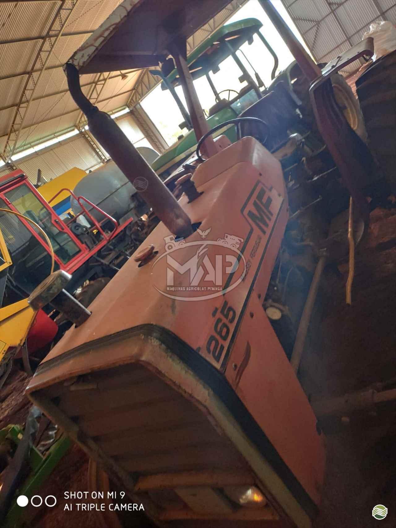 TRATOR MASSEY FERGUSON MF 265 Tração 4x4 Máquinas Agrícolas Pitanga PITANGA PARANÁ PR