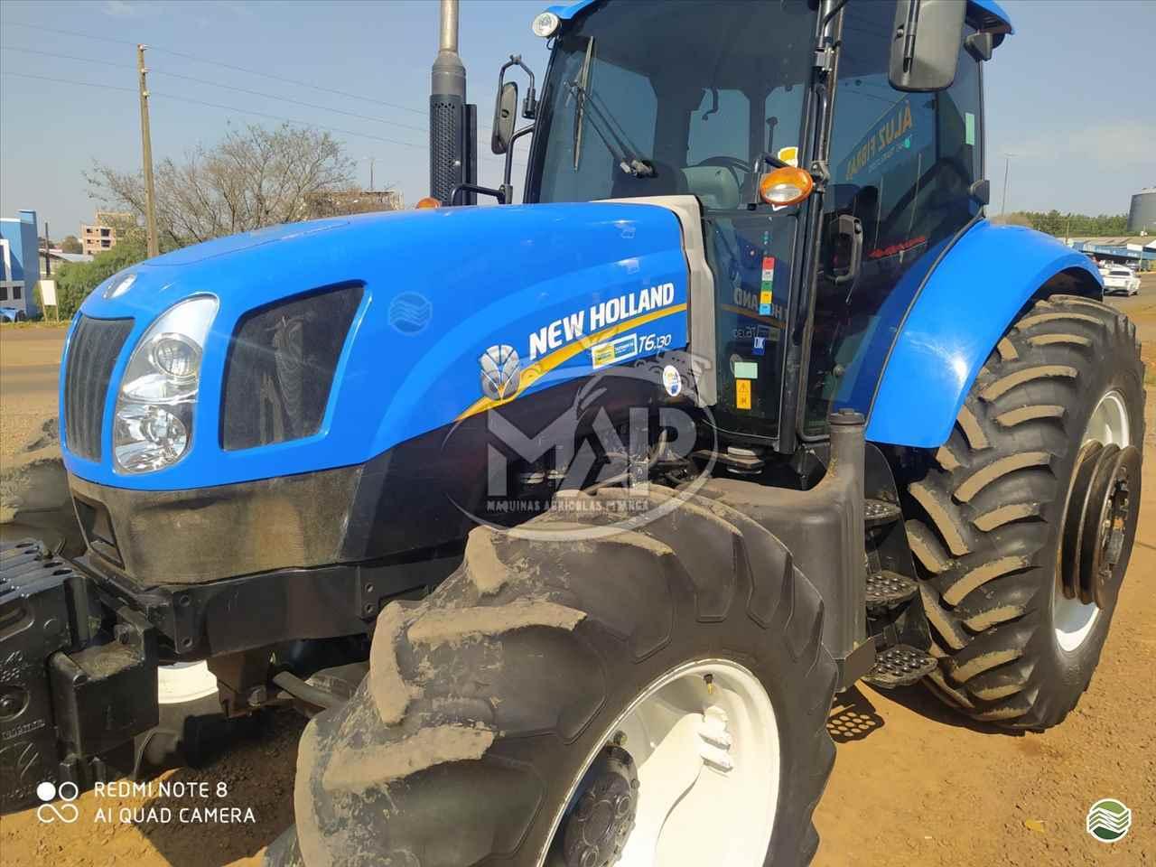 TRATOR NEW HOLLAND NEW T6 130 Tração 4x4 Máquinas Agrícolas Pitanga PITANGA PARANÁ PR