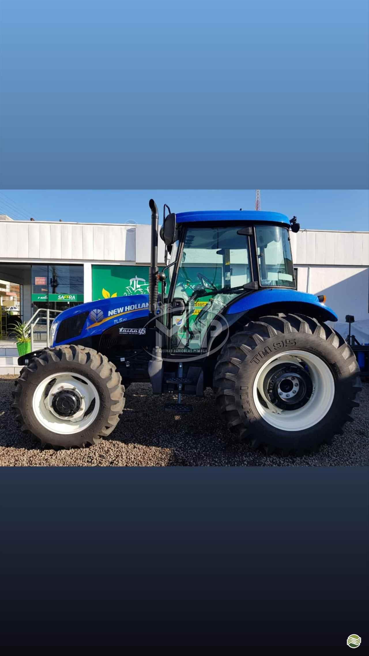 TRATOR NEW HOLLAND NEW TL5.80 Tração 4x4 Máquinas Agrícolas Pitanga PITANGA PARANÁ PR