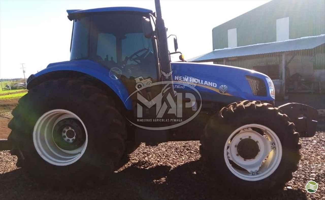 TRATOR NEW HOLLAND NEW T6 110 Tração 4x4 Máquinas Agrícolas Pitanga PITANGA PARANÁ PR