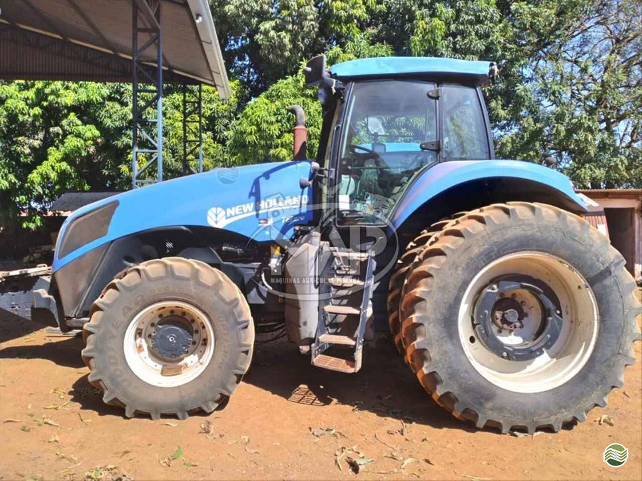 TRATOR NEW HOLLAND NEW T8 270 Tração 4x4 Máquinas Agrícolas Pitanga PITANGA PARANÁ PR