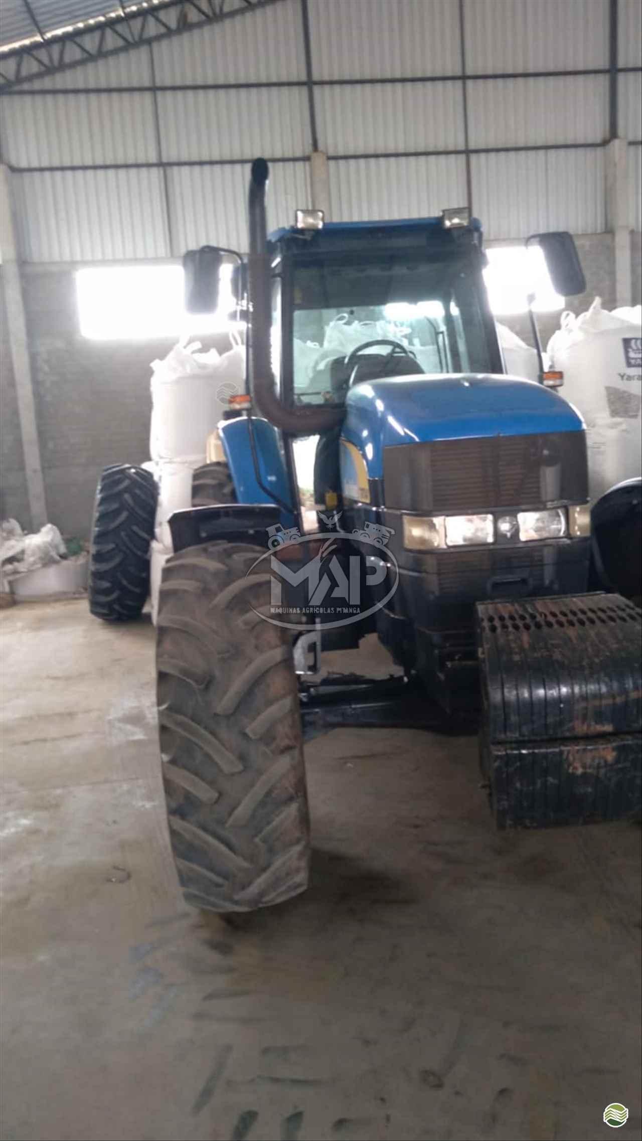 TRATOR NEW HOLLAND NEW TM 7040 Tração 4x4 Máquinas Agrícolas Pitanga PITANGA PARANÁ PR