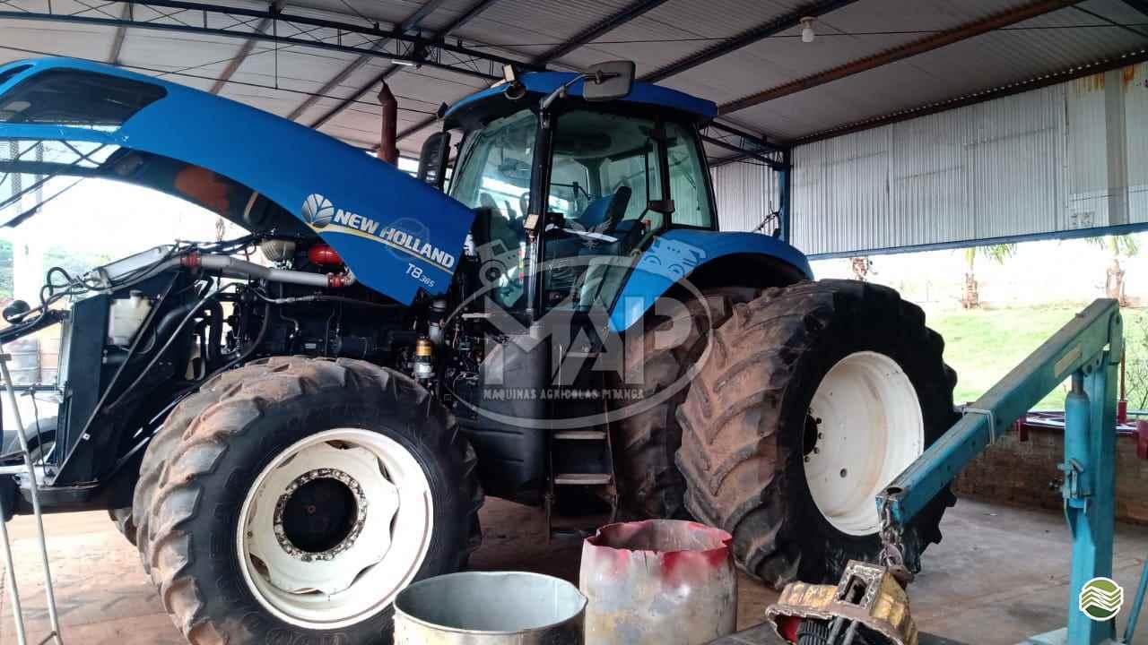 TRATOR NEW HOLLAND NEW T8 385 Tração 4x4 Máquinas Agrícolas Pitanga PITANGA PARANÁ PR