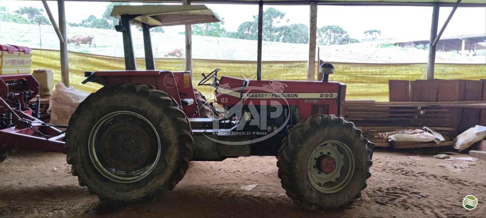 TRATOR MASSEY FERGUSON MF 292 Tração 4x4 Máquinas Agrícolas Pitanga PITANGA PARANÁ PR