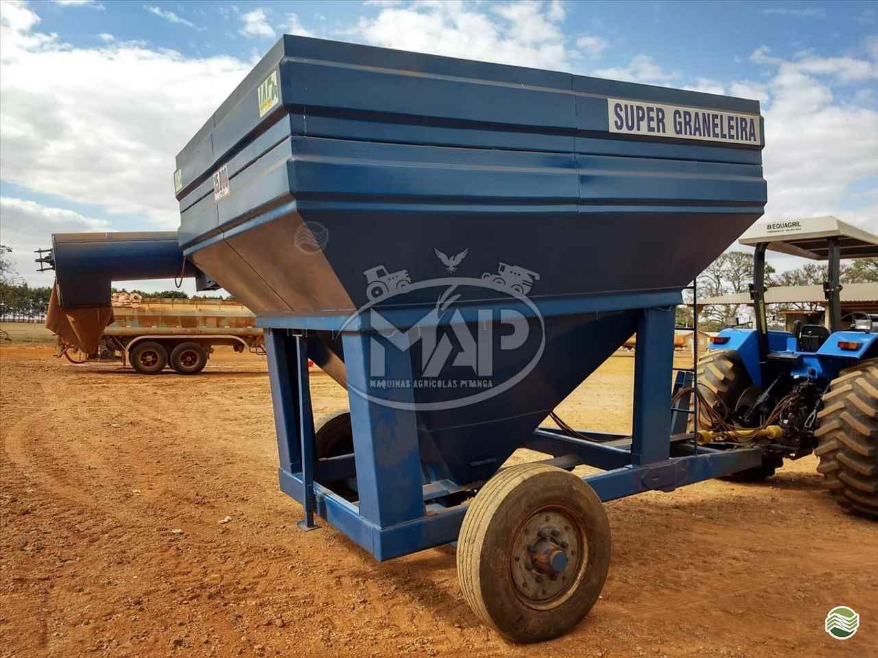 IMPLEMENTOS AGRICOLAS CARRETA BAZUKA GRANELEIRA 15000 Máquinas Agrícolas Pitanga PITANGA PARANÁ PR