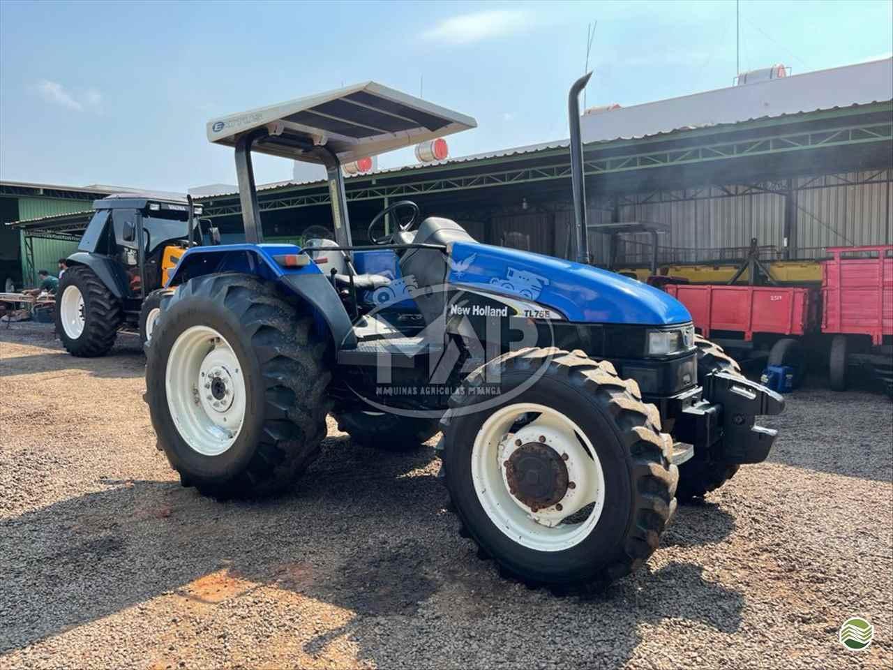 TRATOR NEW HOLLAND NEW TL 75 Tração 4x4 Máquinas Agrícolas Pitanga PITANGA PARANÁ PR