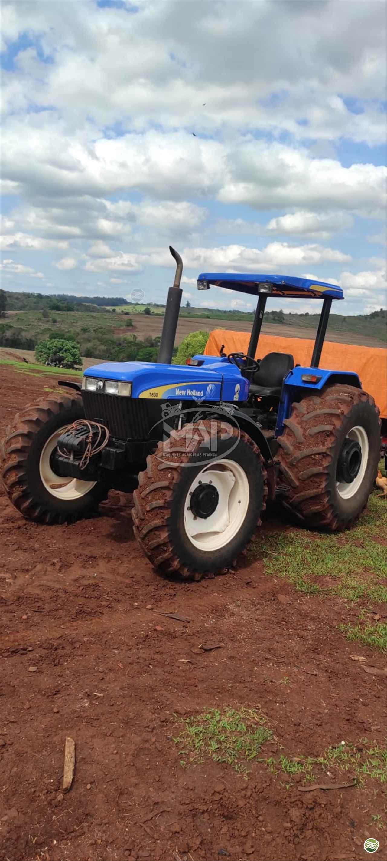 TRATOR NEW HOLLAND NEW 7630 Tração 4x4 Máquinas Agrícolas Pitanga PITANGA PARANÁ PR