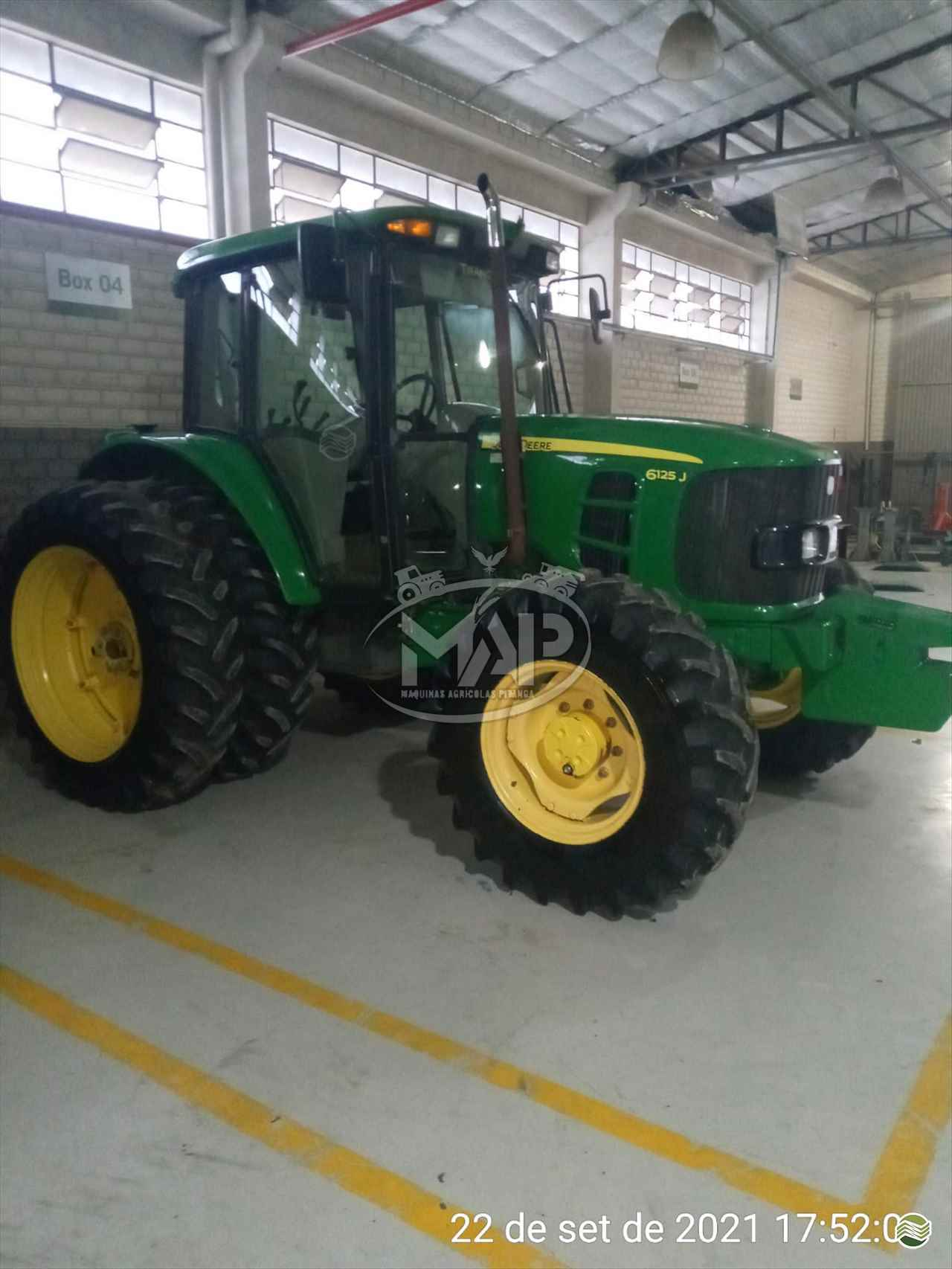 TRATOR JOHN DEERE JOHN DEERE 6125 Tração 4x4 Máquinas Agrícolas Pitanga PITANGA PARANÁ PR