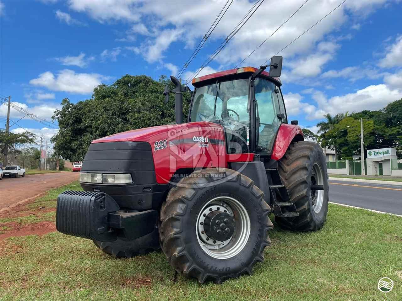 TRATOR CASE MAGNUM 220 Tração 4x4 Máquinas Agrícolas Pitanga PITANGA PARANÁ PR