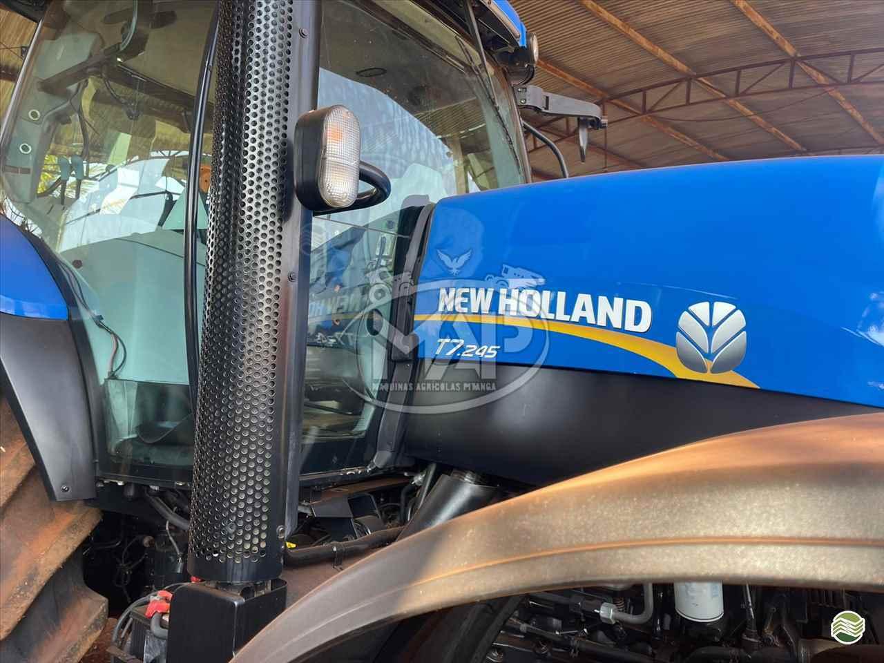 TRATOR NEW HOLLAND NEW T7 245 Tração 4x4 Máquinas Agrícolas Pitanga PITANGA PARANÁ PR